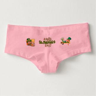 Heiligen Patrick Tag Damen-Hotpants