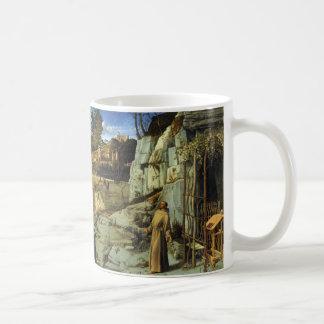 Heiliger Franziskus in der Wüste durch Giovanni Kaffeetasse