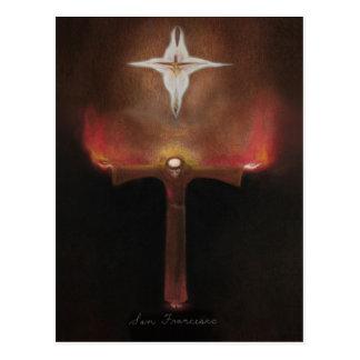 Heiliger Franziskus von Assisi Postkarte
