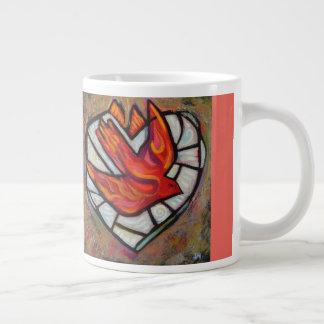 Heiliger Geist Kaffee-Tasse Jumbo-Tasse