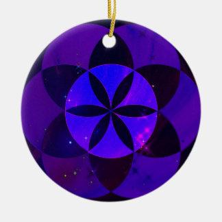 Heiliger Geometrie-Samen der Keramik Ornament