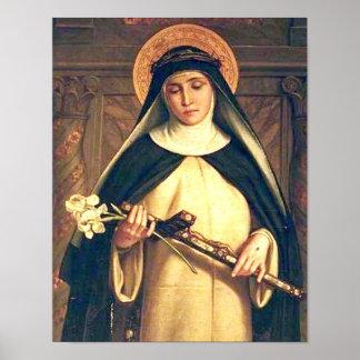 Heiliges Catherine von Siena-Plakat Poster
