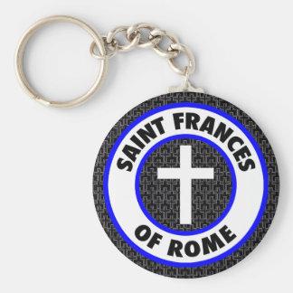 Heiliges Frances von Rom Schlüsselanhänger