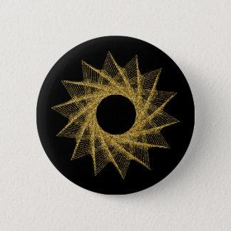 Heiliges Geometrie-Symbol Runder Button 5,1 Cm