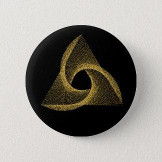 Heiliges Geometrie-Symbol Runder Button 5,7 Cm