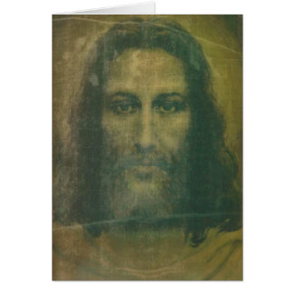 Heiliges Gesichts-Massenkarte Karte