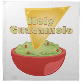 Heiliges Guacamole Stoffserviette