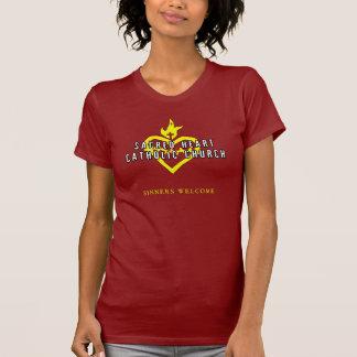 Heiliges Herz-katholische T-Shirt