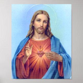 Heiliges Herz-Plakat Poster