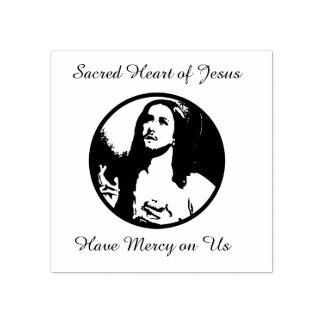 Heiliges Herz von Jesus-Gebet Gummistempel