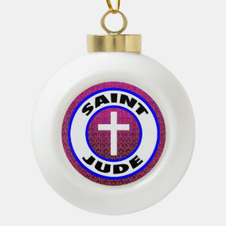 Heiliges Jehuda Keramik Kugel-Ornament