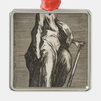 Heiliges Jehuda (oder Heiliges Matthias) Silbernes Ornament