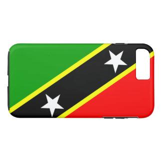 Heiliges Kitts u. Nevis kennzeichnen iPhone 8 Plus/7 Plus Hülle