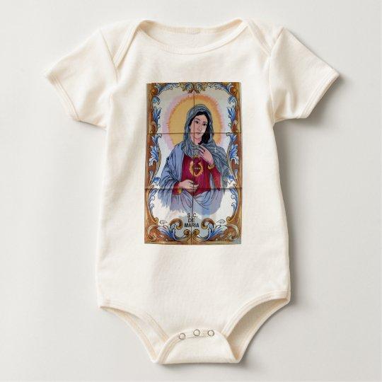 Heiliges Maria in der katholischen Kirche Baby Strampler