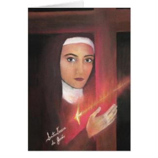 Heiliges Teresa von Jesus Karte