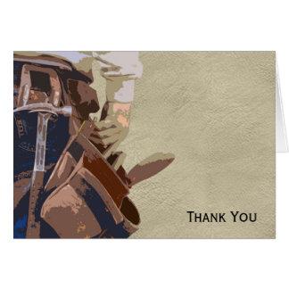 Heimwerker bearbeitet Aquarell Mitteilungskarte