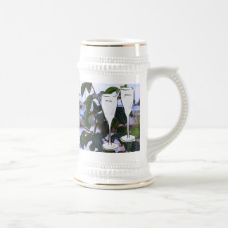 Heirat-Erinnerungen; Hochzeitssegen Bierglas