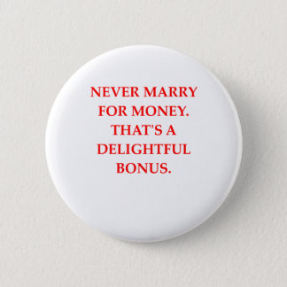 Heirat Runder Button 5,1 Cm