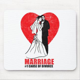 Heirat-Spaß Mousepads