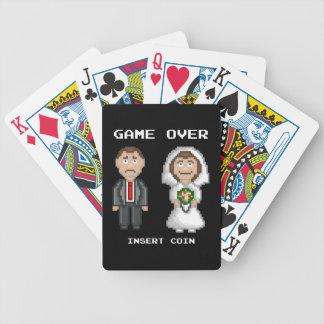 Heirat - Spiel vorbei Bicycle Spielkarten
