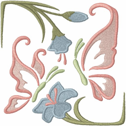 Heirloom-Schmetterling