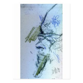 Heirophant Toth Postkarte