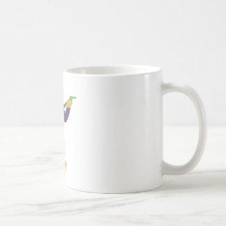 Heiß leckt kaffeetasse