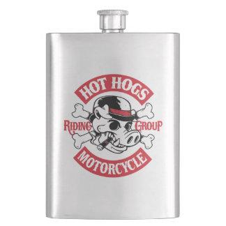 Heiße Hogs™ klassische Rocker-Flasche Flachmänner