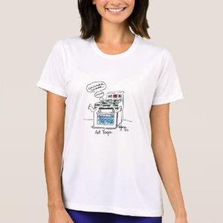 Heiße Yogaspitze für Damen und Männer durch Gonzo T-Shirt