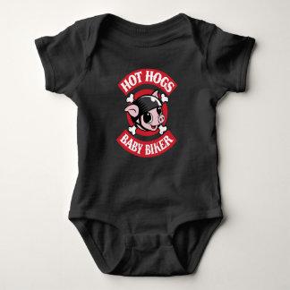 Heißer Hogs™ klassischer Baby-Bodysuit Baby Strampler