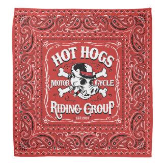 Heißer Hogs™ klassischer roter Bandana Halstücher