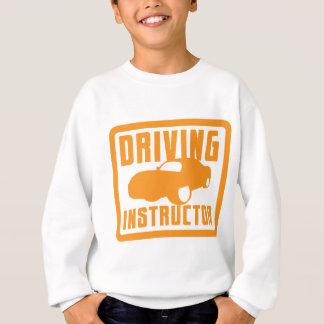 Heißer TREIBENDER Lehrer des Autos Sweatshirt