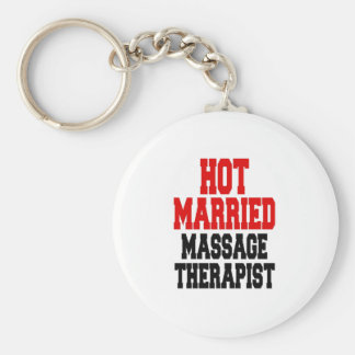 Heißer verheirateter Massage-Therapeut Schlüsselanhänger