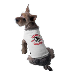 Heißes Hogs™ klassisches Hündchen-Unterhemd Ärmelfreies Hunde-Shirt
