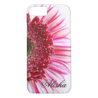 Heißes Rosa Gerbera-Gänseblümchen-Blume iPhone 8/7 Hülle