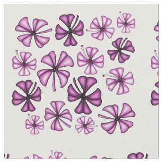 Heißes Rosa-glücklicher Kleeblatt-Klee Stoff