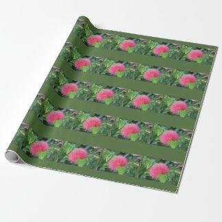 Heißes Rosa-Wildblume-Thema-Geschenk-Verpackung Geschenkpapier
