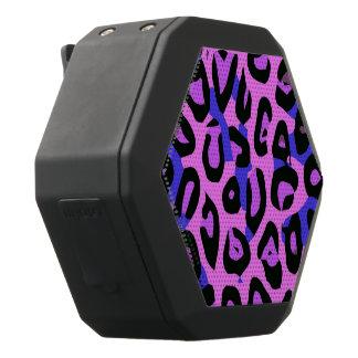 Heißes Rosablauer abstrakter Cheetah Schwarze Bluetooth Lautsprecher