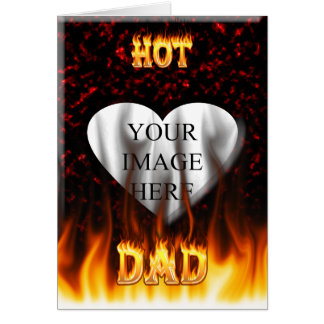 Heißes Vatifeuer und rotes Marmorherz Karte