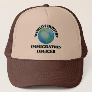 Heißester die Immigrations-Offizier der Welt Truckerkappe