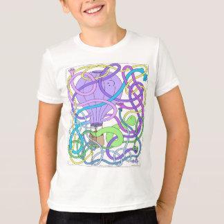 Heißluft-Ballon Herr-Squiggly T-Shirt