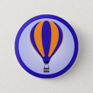Heißluft-Ballon-Knopf Runder Button 5,7 Cm
