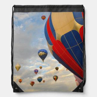 Heißluft-Ballon-Rennen Nevadas Sportbeutel