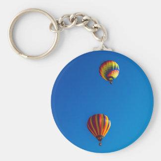 Heißluft steigt Keychain im Ballon auf Schlüsselanhänger