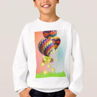 Heißluftballone mit Tennisbällen Sweatshirt