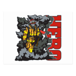 HELD Feuerwehrmann Postkarte
