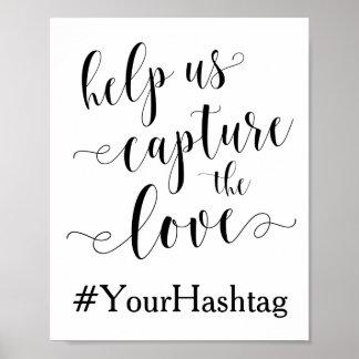 Helfen Sie uns, die Liebe gefangenzunehmen - Poster