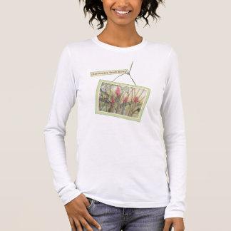 "Heliconia (""Bush Bling "") Langarm T-Shirt"
