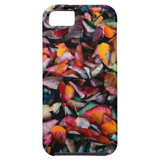 Hell farbiges Herbst-Blätter iPhone 5 Cover