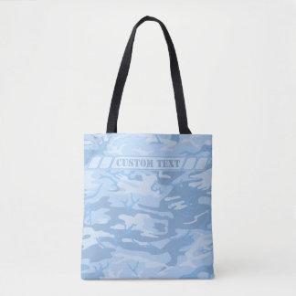 Hellblaue Camouflage-Tasche mit kundenspezifischem Tasche